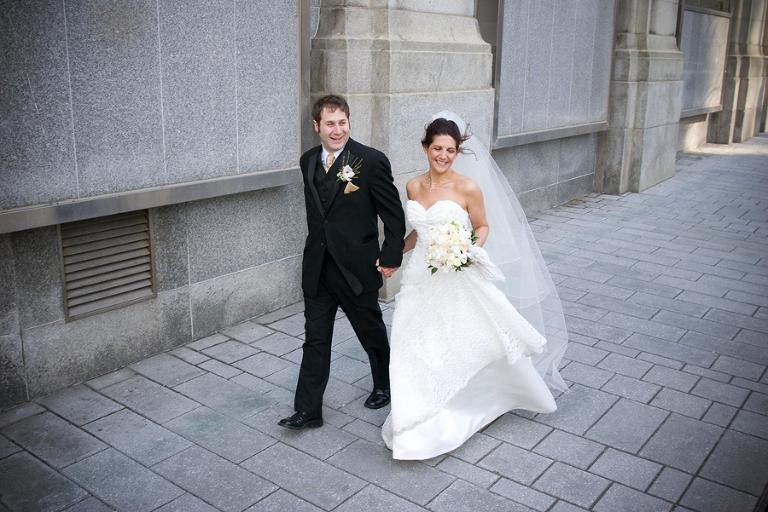 Old Montreal wedding