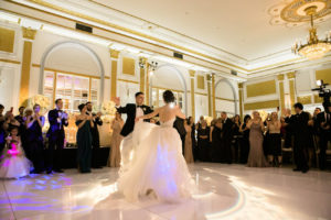 First dance at Windsor Ballrooms in Montreal