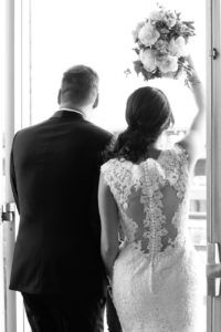 lace wedding dress from Kleinfeld's