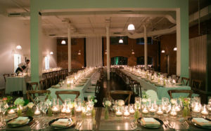 Entrepots dominion wedding decor