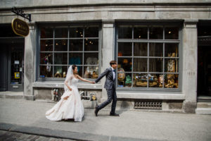 candid wedding photo in montreal