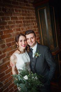 casual bridal photo