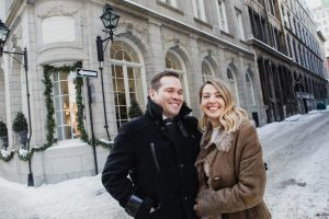 Montreal winter wedding