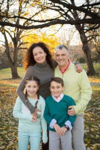 family photo shoot in westmount park
