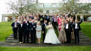 wedding at Stewart Hall