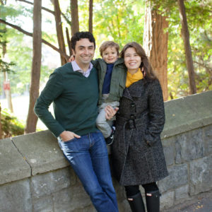 fall family photos in Montreal