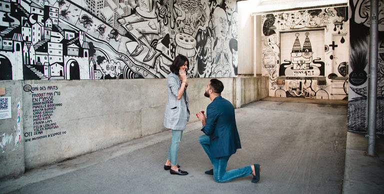 Montreal Wedding Proposal